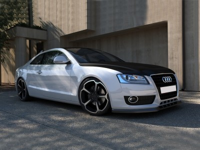 Audi A5 8T M-Line Front Bumper Extension