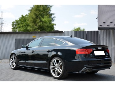 Audi A5 8T Matrix Side Skirt Extensions