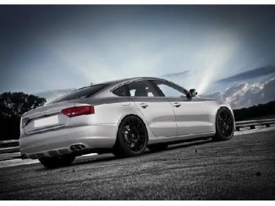 Audi A5 8T Sportback Enix Rear Bumper Extension