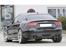 Audi A5 8T Sportback Vortex Rear Bumper Extension