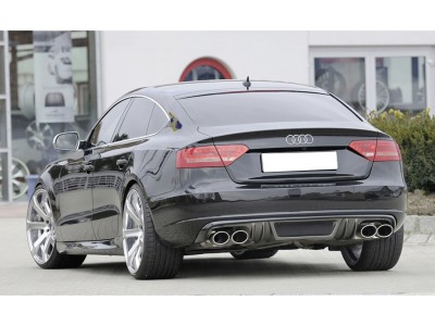 Audi A5 8T Sportback Vortex Rear Bumper Extension