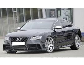 Audi A5 8T Vortex Side Skirts