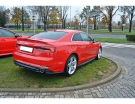 Audi A5 F5 MX2 Rear Bumper Extension