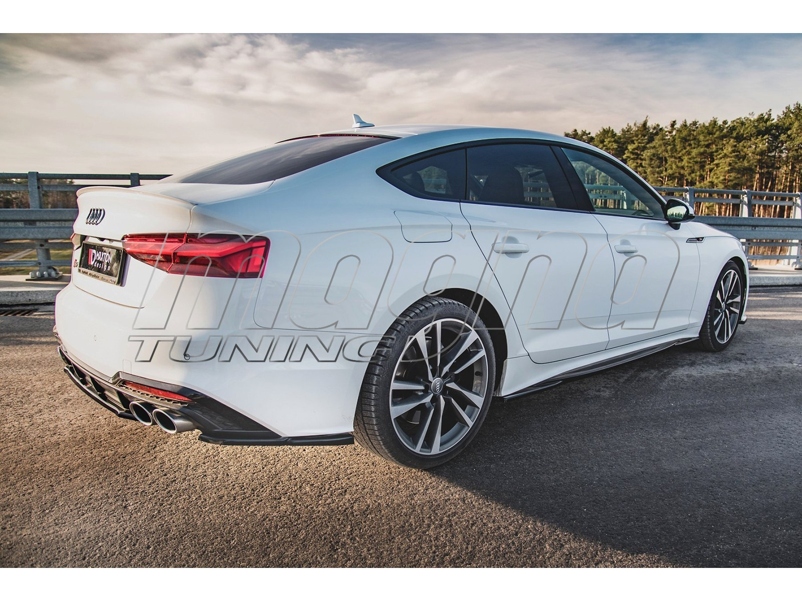 Audi A5 F5 Master Side Skirt Extensions
