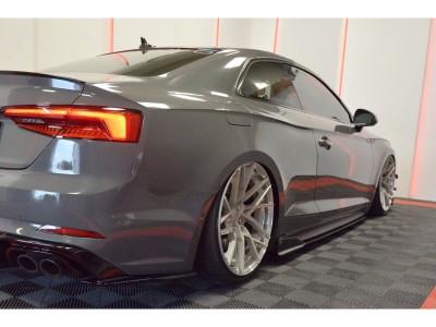 Audi A5 F5 Matrix Side Skirt Extensions