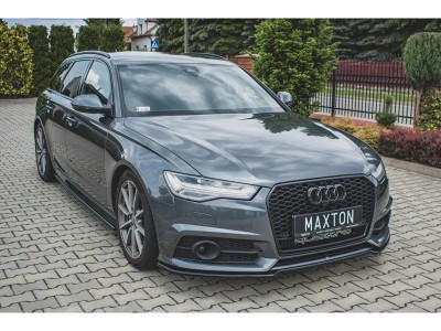 Audi A6 / S6 C7 / 4G Facelift Extensie Bara Fata Monor