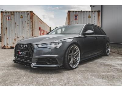 Audi A6 / S6 C7 / 4G Facelift Meteor Front Bumper Extension
