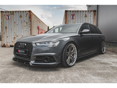Audi A6 / S6 C7 / 4G Facelift Meteor Side Skirt Extensions