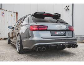 Audi A6 / S6 C7 / 4G Facelift Monor Heckansatz