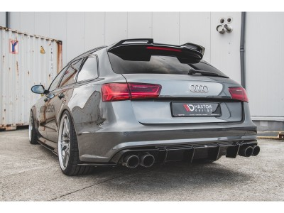 Audi A6 / S6 C7 / 4G Facelift Monor Rear Bumper Extension