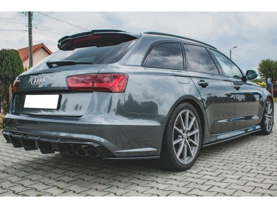 Audi A6 / S6 C7 / 4G Facelift Monor Rear Wing Extension