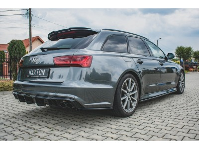 Audi A6 / S6 C7 / 4G Facelift Monor Side Skirt Extensions