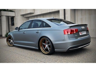 Audi A6 / S6 C7 / 4G Facelift Monor2 Rear Wing Extension