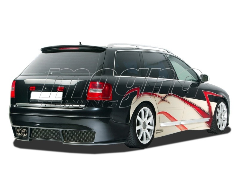 audi a6 4b avant rx rear bumper extension. Black Bedroom Furniture Sets. Home Design Ideas