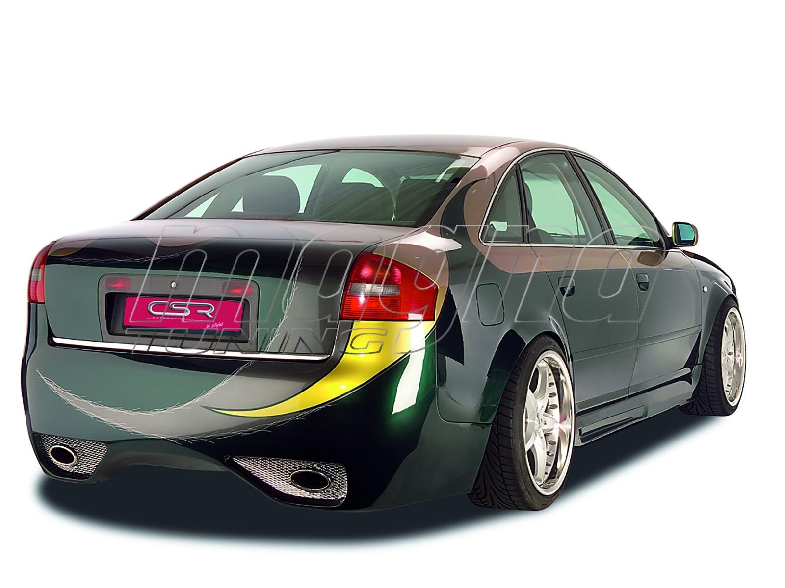 audi a6 4b limousine xxl line rear bumper. Black Bedroom Furniture Sets. Home Design Ideas