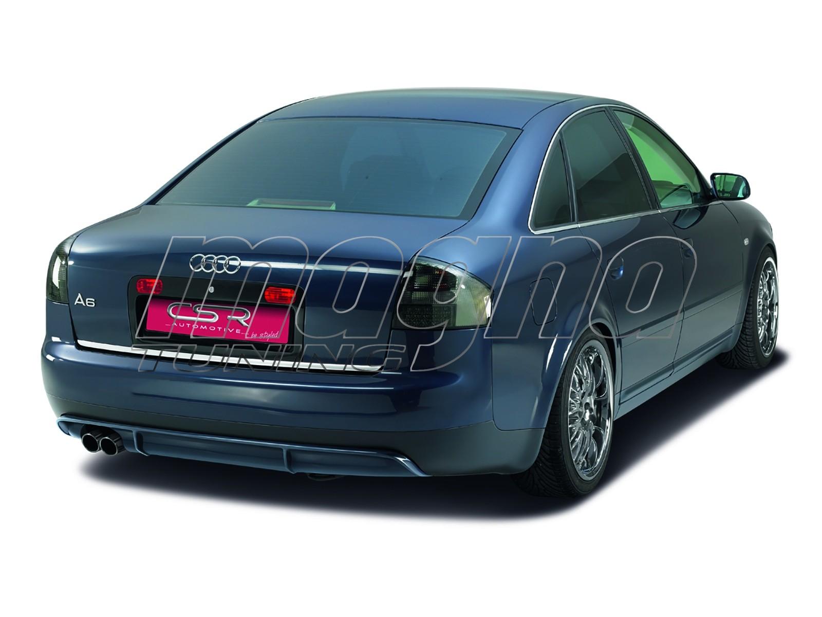 audi a6 4b newline rear bumper extension. Black Bedroom Furniture Sets. Home Design Ideas