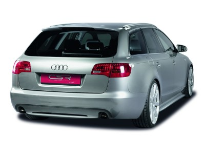 Audi A6 C6 / 4F Avant XL-Line Rear Bumper Extension