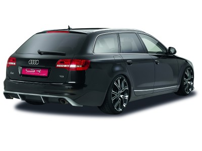 Audi A6 C6 / 4F Facelift Avant Crono Rear Bumper Extension