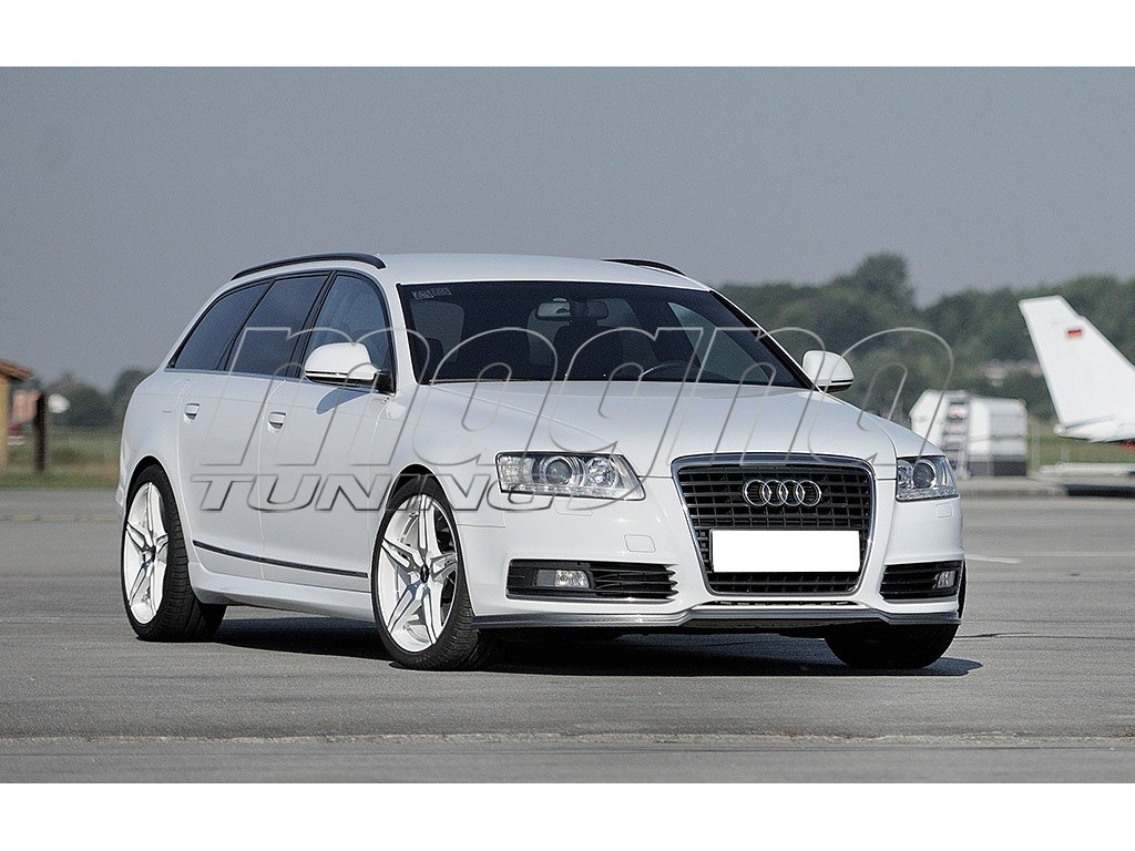 audi a6 c6 4f facelift avant recto body kit. Black Bedroom Furniture Sets. Home Design Ideas