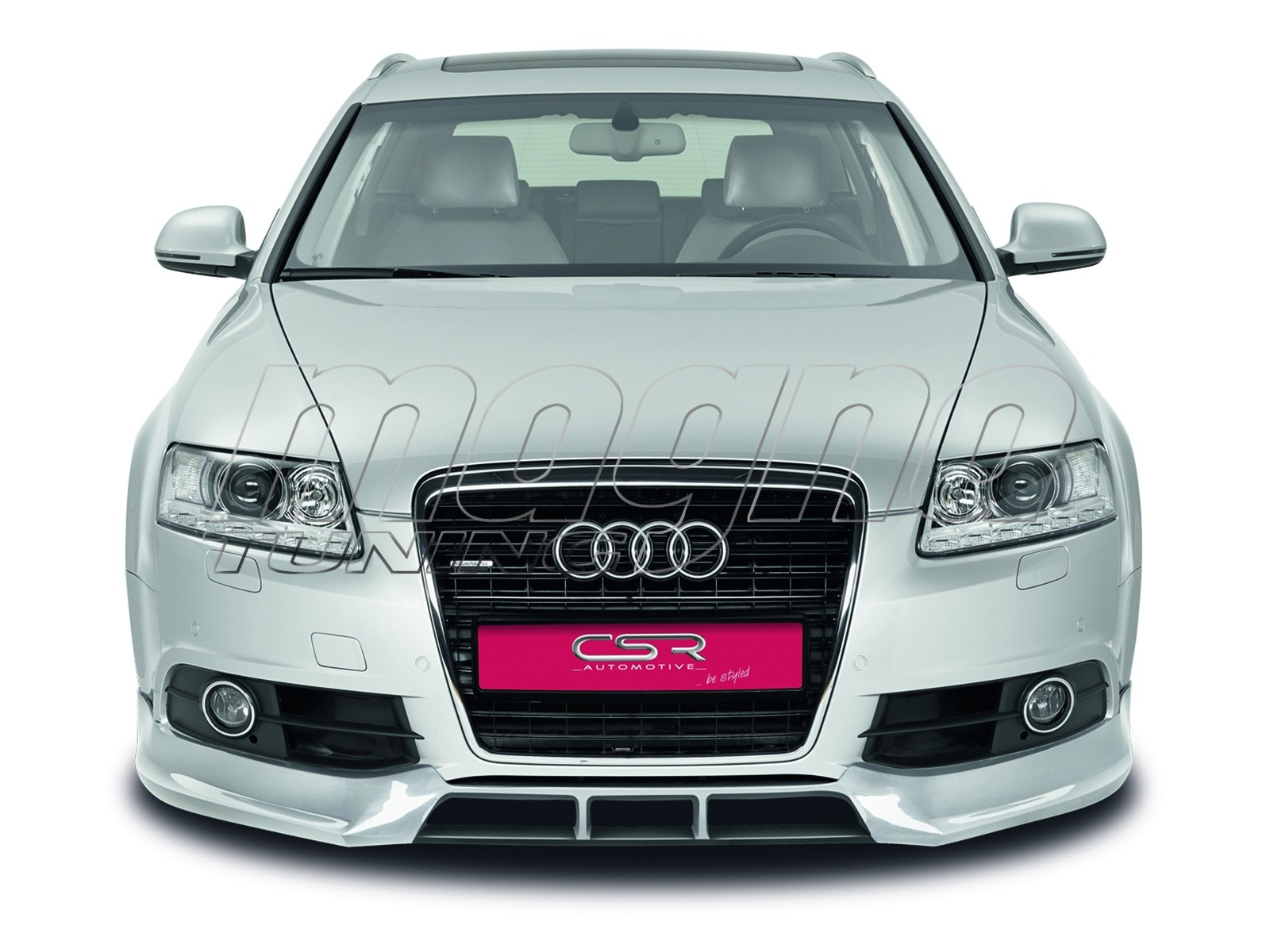 Audi a6 c6 4f facelift cx front bumper extension for Audi a6 4f interieur