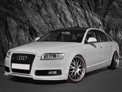 Audi A6 C6 / 4F Facelift E2 Front Bumper Extension