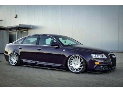 Audi A6 C6 / 4F Facelift Extensie Bara Fata MX
