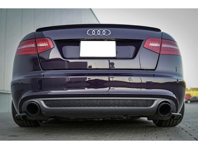 Audi A6 C6 / 4F Facelift MX Rear Bumper Extensions