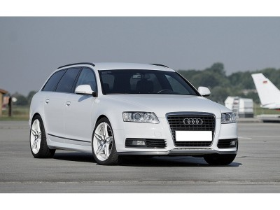 Audi A6 C6 / 4F Facelift Recto Front Bumper Extension