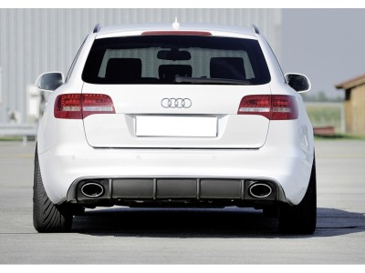Audi A6 C6 / 4F Facelift Recto Rear Bumper Extension