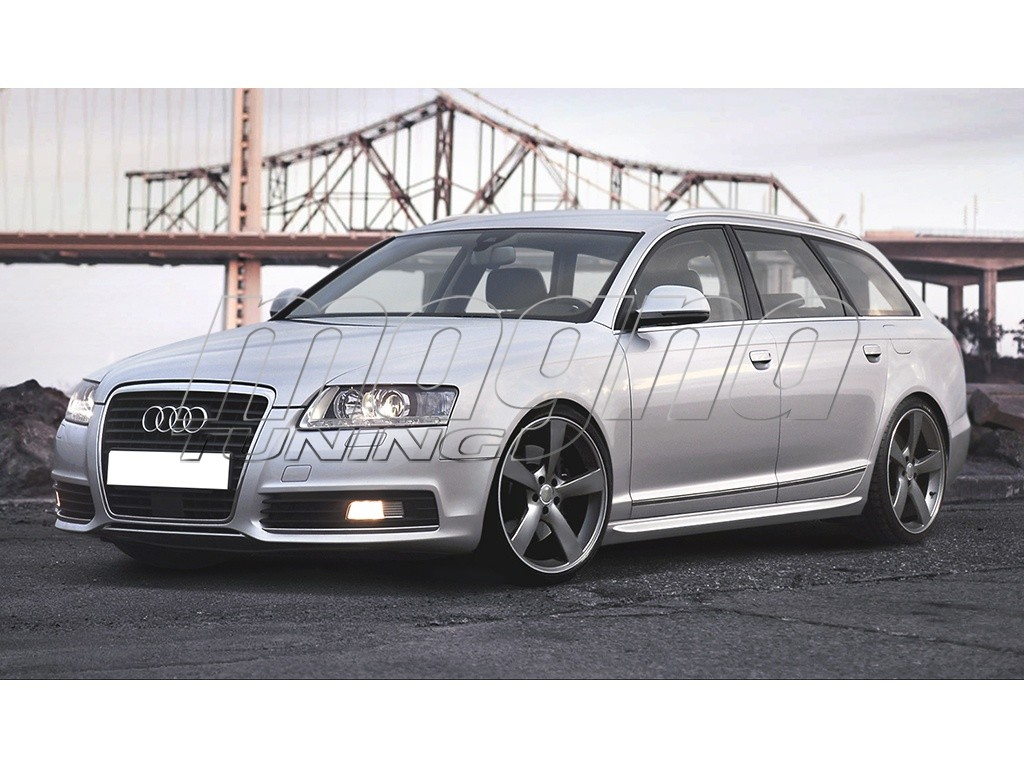Audi a6 c6 4f sx side skirts for Audi a6 4f interieur