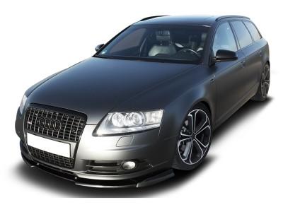 Audi A6 C6 / 4F V2 Front Bumper Extension
