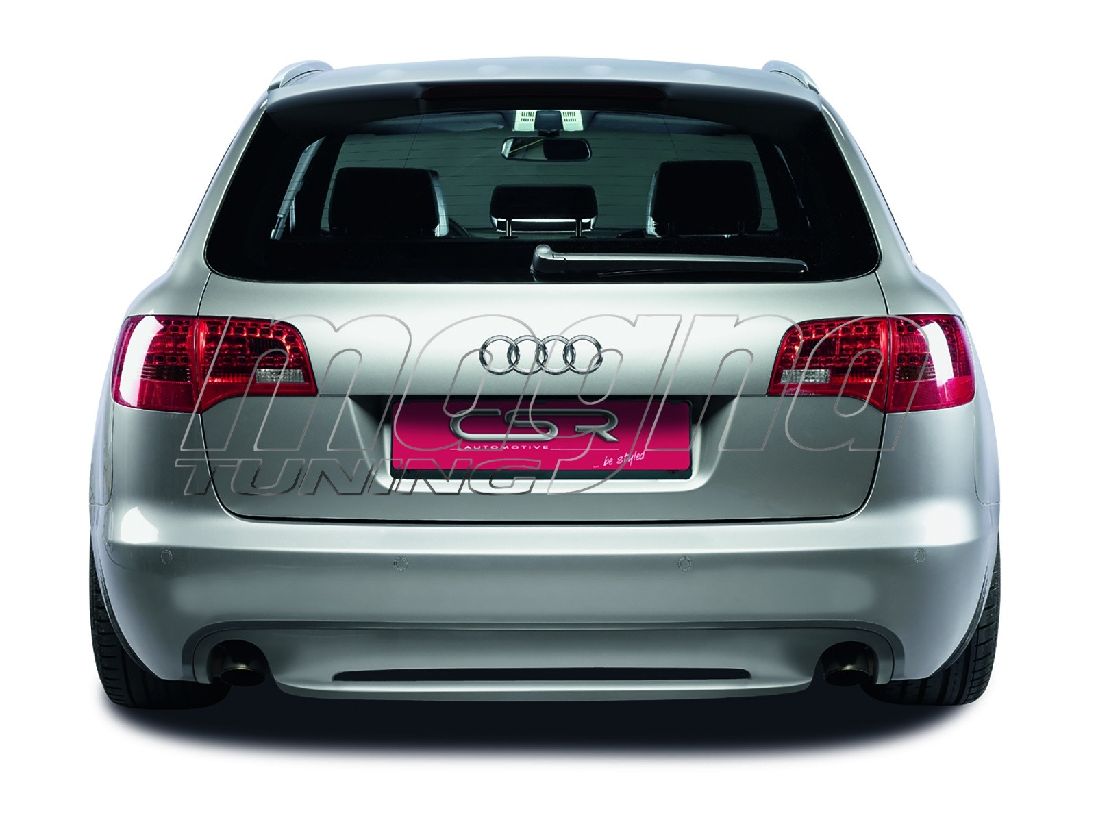 audi a6 c6 4f avant xl line rear bumper extension. Black Bedroom Furniture Sets. Home Design Ideas