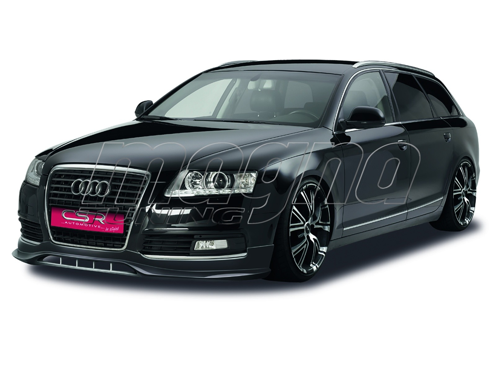 audi a6 c6 4f facelift crono front bumper extension. Black Bedroom Furniture Sets. Home Design Ideas