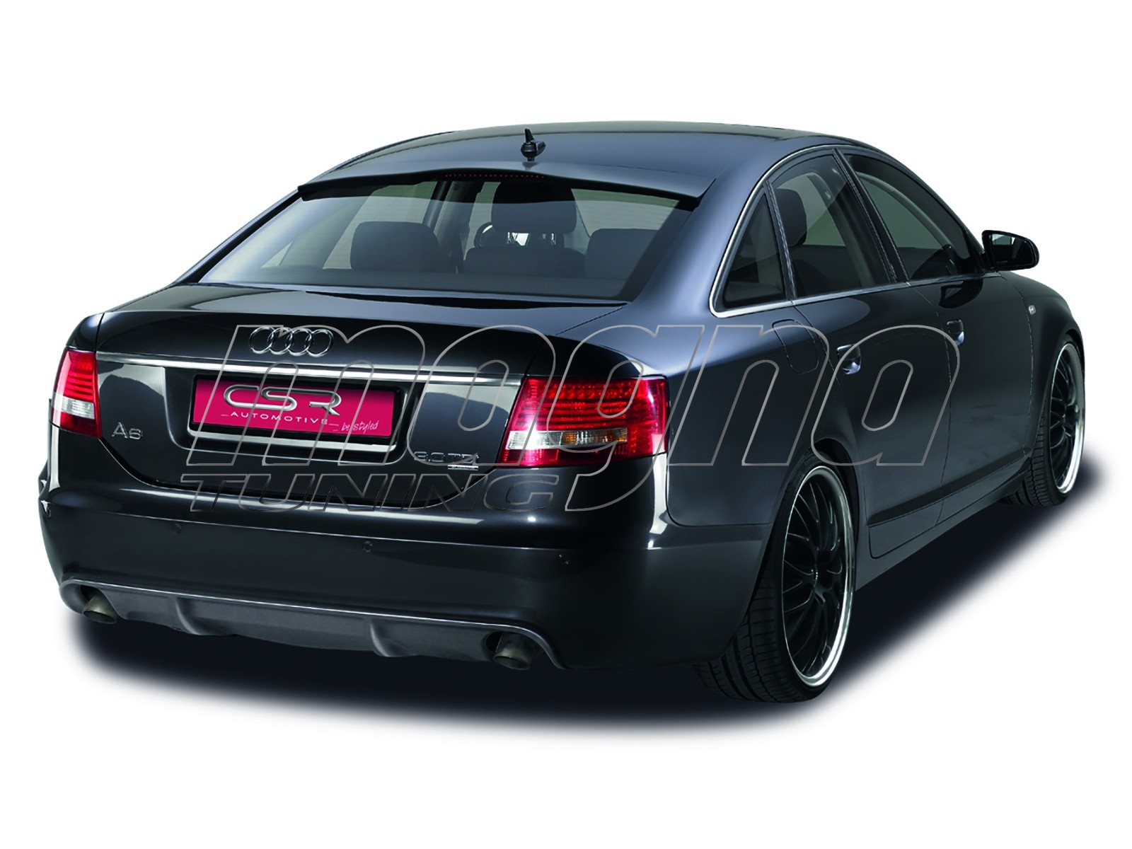 audi a6 c6 4f limousine sfx line rear bumper extension. Black Bedroom Furniture Sets. Home Design Ideas