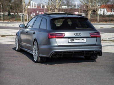 Audi A6 C7 / 4G Exclusive Rear Bumper