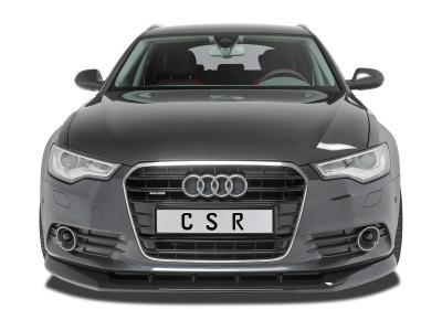 Audi A6 C7 / 4G Extensie Bara Fata Cyber