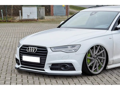 Audi A6 C7 / 4G Extensie Bara Fata Iridium