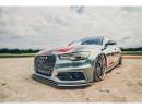 Audi A6 C7 / 4G Extensie Bara Fata RaceLine