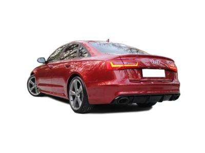 Audi A6 C7 / 4G Extensie Bara Spate RS6-Look