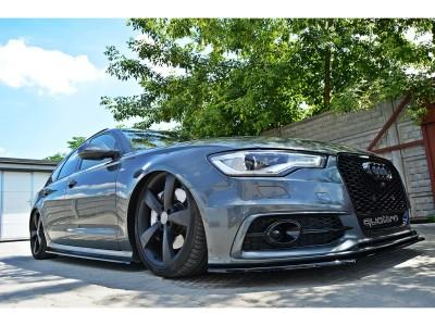 Audi A6 C7 / 4G Extensii Praguri MX
