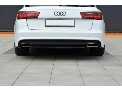 Audi A6 C7 / 4G Facelift Matrix Rear Bumper Extension