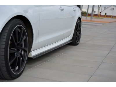 Audi A6 C7 / 4G Facelift Matrix Side Skirt Extensions
