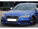 Audi A6 C7 / 4G Iris Front Bumper Extension