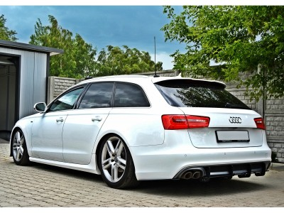 Audi A6 C7 / 4G MX Rear Bumper Extension