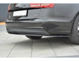 Audi A6 C7 / 4G Master Rear Bumper Extension
