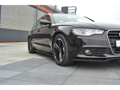 Audi A6 C7 / 4G Master Side Skirt Extensions