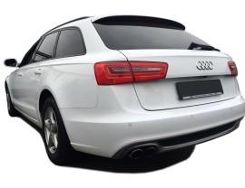 Audi A6 C7 / 4G S6-Look Rear Bumper Extension