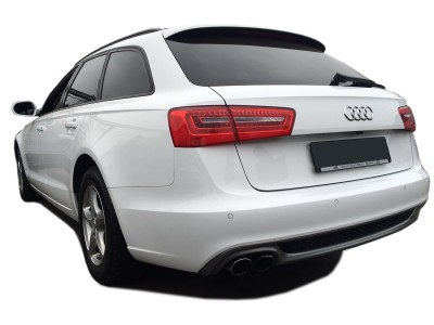Audi A6 C7 / 4G S6-Look Rear Bumper Extension