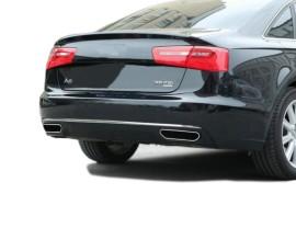 Audi A6 C7 / 4G W12-Look Rear Bumper Extension