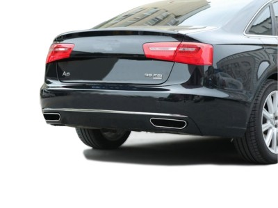Audi A6 C7 / 4G W12-Look Rear Bumper Extension